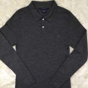 Boys Ralph Lauren Grey Long Sleeve wool sweater